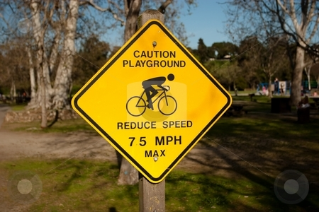 Warning Sign stock photo, A traffic warning sign is a type of traffic sign that indicates a hazard ahead on the road. by Mariusz Jurgielewicz