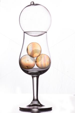 Glass art stock photo, Still life of glass in studio by Dirk Ercken