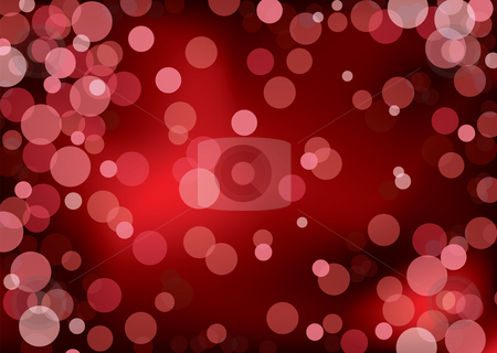 Red blur light stock photo, Red abstract background with blured lights and copy space by Michael Travers