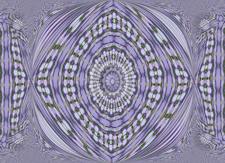 Mostly Purple stock photo, Purple abstract with an Aztec look design by Sandra Fann