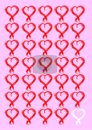 Love card stock vector clipart, Lovely card by Veronika Pilatova