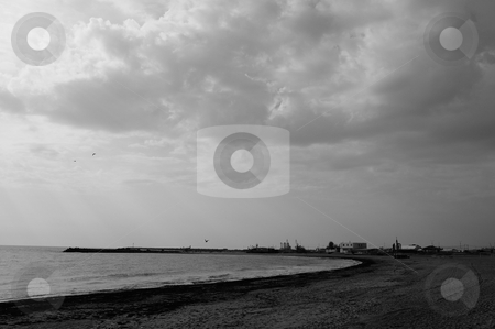 Sea view stock photo, Lovely scene in summertime by Dragos Iliescu