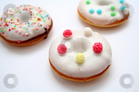 Donuts stock photo, Fresh donuts by Yvonne Bogdanski