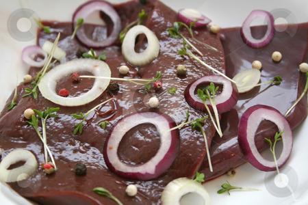 Fresh liver stock photo, Fresh liver by Yvonne Bogdanski
