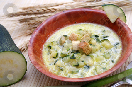 Fresh stew stock photo, A fresh stew of zucchini by Yvonne Bogdanski