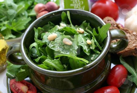 Rucola salad stock photo, Fresh salad by Yvonne Bogdanski