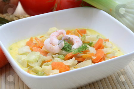 Fresh stew stock photo, A fresh stew of poatoes, carrots and fennel by Yvonne Bogdanski