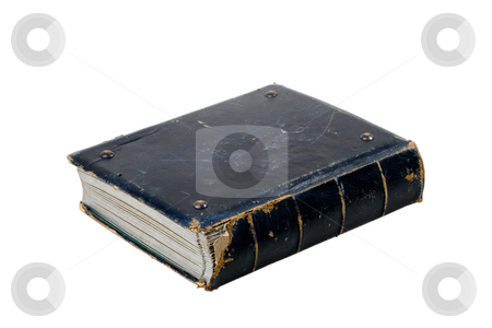 Old grunge book stock photo,  by Mikhail Egorov