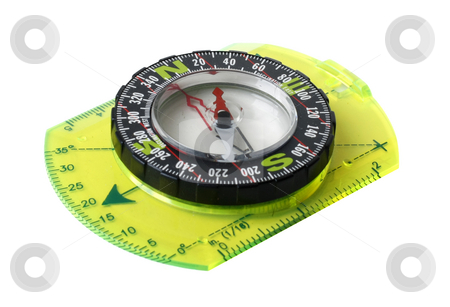 Compass stock photo,  by Mikhail Egorov