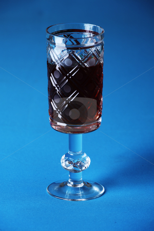 Glass wine stock photo,  by Mikhail Egorov