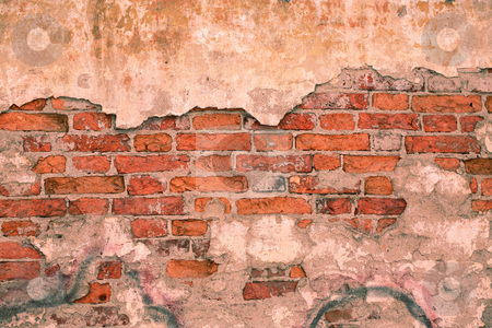 Old grunge wall stock photo,  by Mikhail Egorov