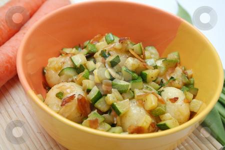 Vegetables stock photo, Potatoes and zucchini by Yvonne Bogdanski
