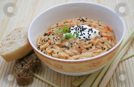 Rice noodles stock photo, Greg rice noodles by Yvonne Bogdanski