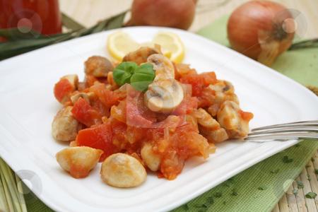 Vegetarian meal stock photo, Vegetarian meal by Yvonne Bogdanski