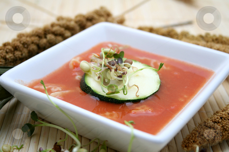 Fresh soup stock photo, Fresh soup by Yvonne Bogdanski