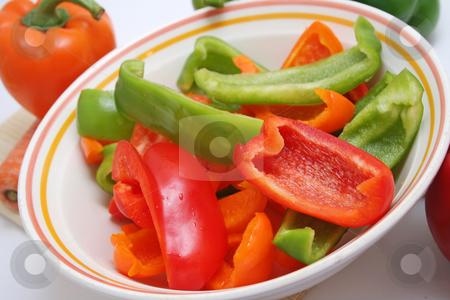 Fresh paprika stock photo, Fresh paprika by Yvonne Bogdanski
