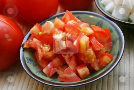Fresh tomatoes stock photo, Fresh tomatoes by Yvonne Bogdanski