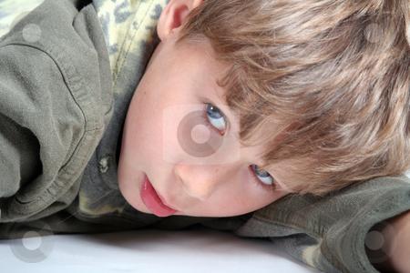 Young boy stock photo, Young boy by Yvonne Bogdanski