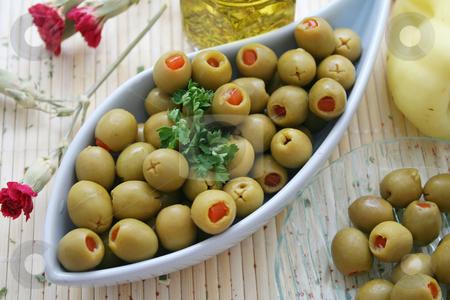 Olives stock photo, Olives by Yvonne Bogdanski