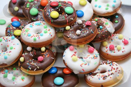 Donuts stock photo, Donuts by Yvonne Bogdanski