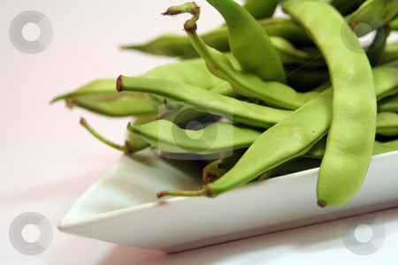 Green beans stock photo, Green beans by Yvonne Bogdanski