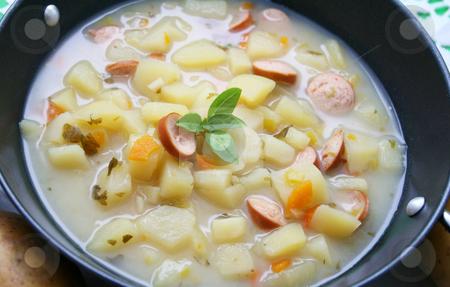 Fresh stew stock photo, A fresh stew of potatoes by Yvonne Bogdanski