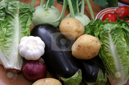 Fresh vegetables stock photo, Fresh vegetables by Yvonne Bogdanski