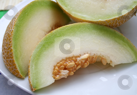 Honeymelone stock photo, Honeymelone by Yvonne Bogdanski