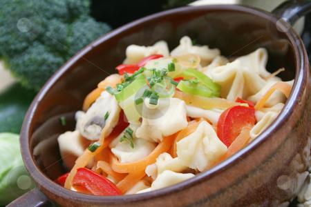 Tofu noodles stock photo, Toful noodles by Yvonne Bogdanski