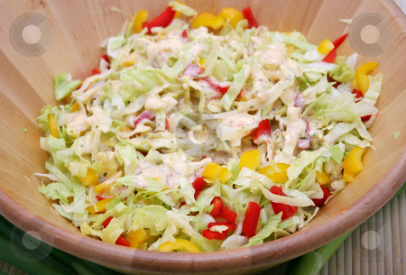 Fresh salad stock photo, Fresh salad by Yvonne Bogdanski