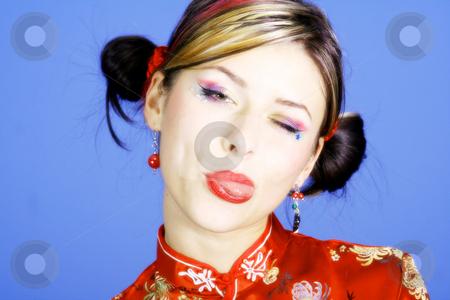 Sweet girl stock photo, Young woman by Yvonne Bogdanski