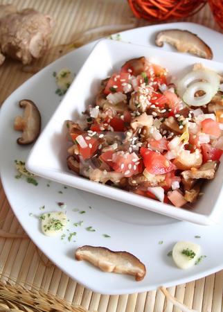 Asian Salad stock photo, Asian salad by Yvonne Bogdanski