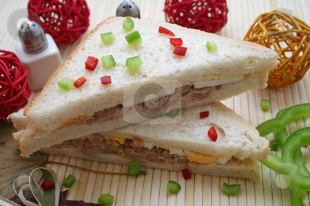 Sandwich stock photo, Sandwich by Yvonne Bogdanski