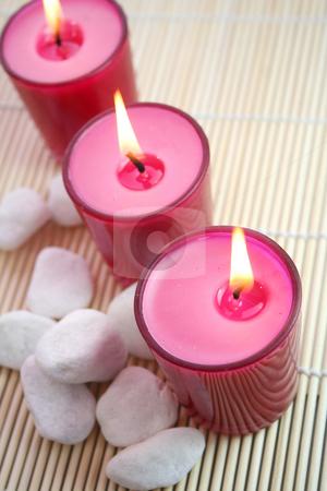 Candles stock photo,  by Yvonne Bogdanski