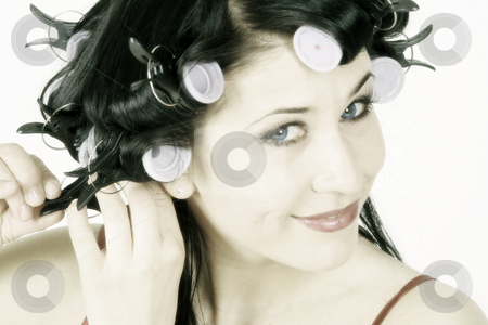 Young woman stock photo,  by Yvonne Bogdanski