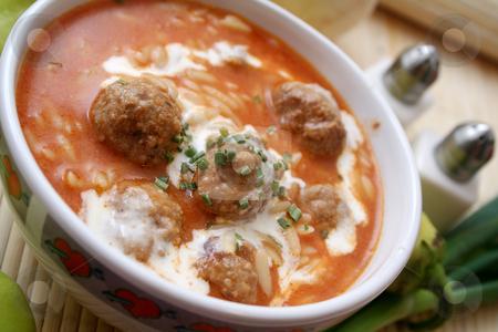 Meatballs stock photo,  by Yvonne Bogdanski