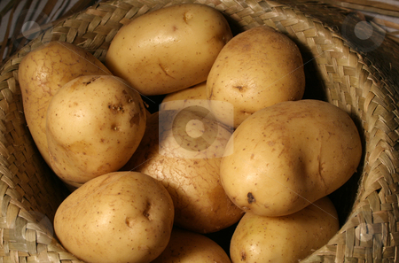 Potatoes stock photo, Food by Yvonne Bogdanski