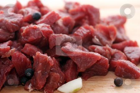 Fresh beef stock photo, Fresh beef by Yvonne Bogdanski