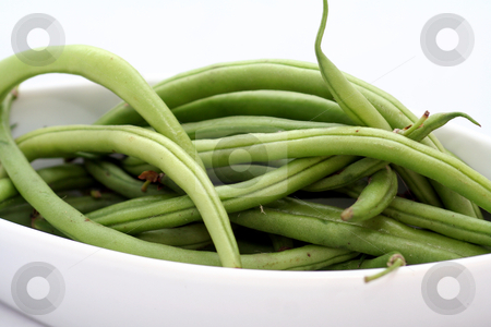 Green beans stock photo,  by Yvonne Bogdanski