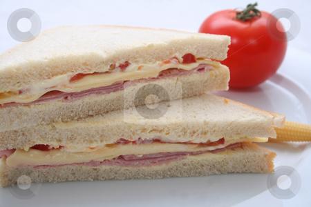 Sandwiches stock photo,  by Yvonne Bogdanski