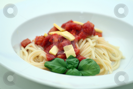 Fresh pasta stock photo,  by Yvonne Bogdanski