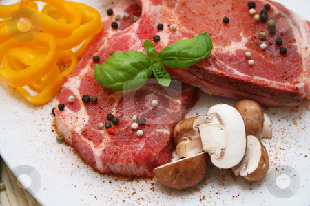 Fresh meat stock photo,  by Yvonne Bogdanski