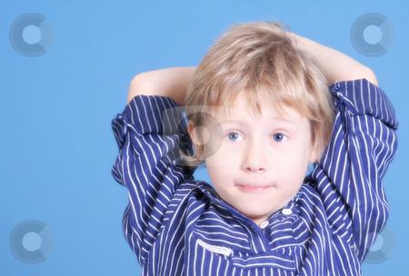 Sweet boy stock photo, Kinderfotografie by Yvonne Bogdanski