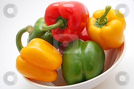 Mixed paprika stock photo,  by Yvonne Bogdanski