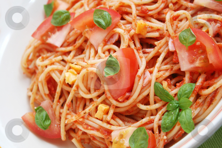 Fresh pasta stock photo,  by Yvonne Bogdanski