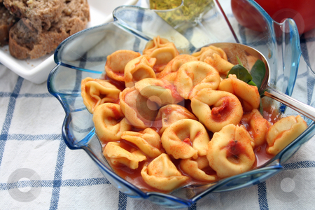 Tortellini stock photo,  by Yvonne Bogdanski