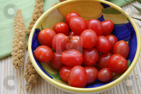 Tomatoes stock photo,  by Yvonne Bogdanski