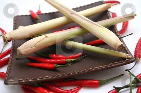 Asian spices stock photo,  by Yvonne Bogdanski