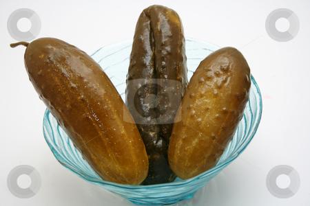 Cucumbers stock photo,  by Yvonne Bogdanski