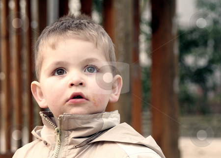 Young boy stock photo,  by Yvonne Bogdanski